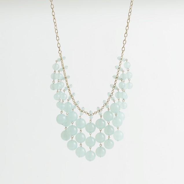 Factory multibead bib necklace