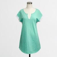 Factory crochet-trim tunic