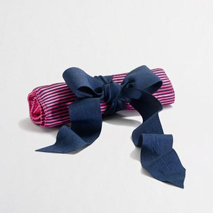 Factory stripe jewelry roll