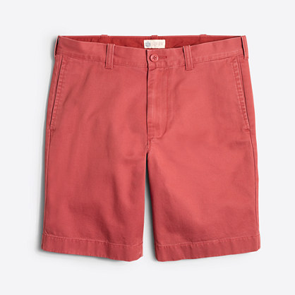 "Factory 9"" broken-in Gramercy short"
