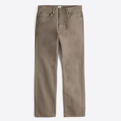 Bleecker garment-dyed jean