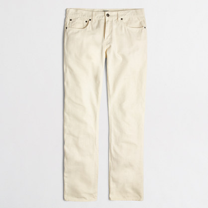 Bleecker garment-dyed jean