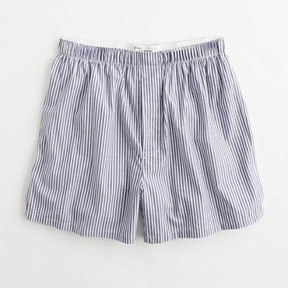 Factory slim-stripe boxers