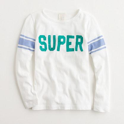 Factory girls' long-sleeve super keepsake tee
