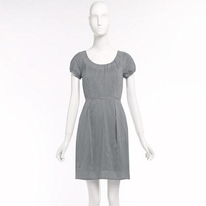 Factory cap-sleeve pocket dress