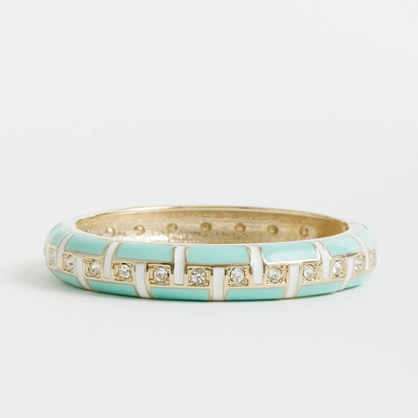 Factory enameled dot bangle