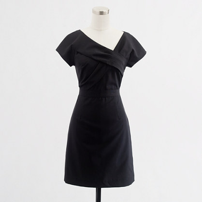 Factory asymmetric shift dress