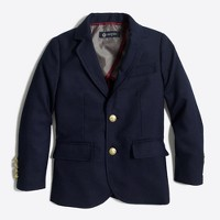 Boys' gold-button blazer