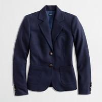 Factory classic wool blazer