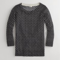 Factory Charley sweater in polka dot