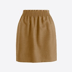 Factory wool sidewalk skirt