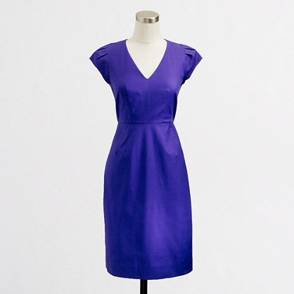 Factory V-neck sheath dress