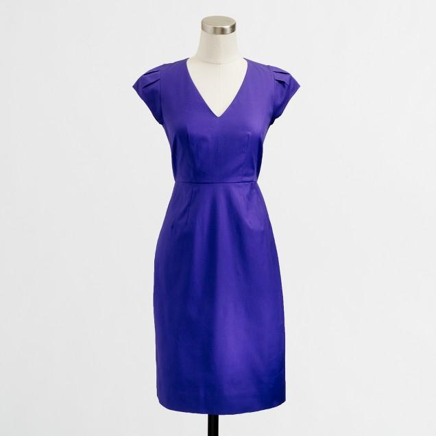 Factory V-neck sheath dress