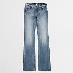 Factory bootcut jean in indigo wash