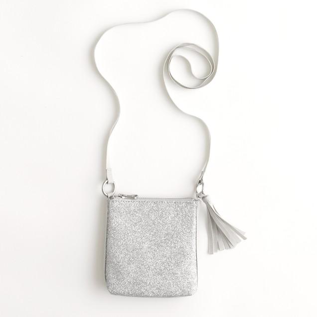 Factory girls' glitter evening bag