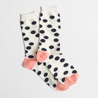 Factory polka-dot socks