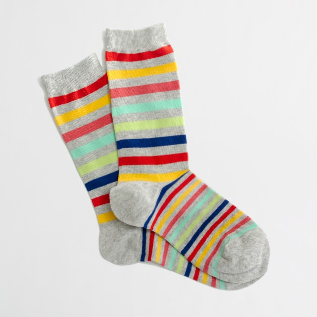 Factory multistripe socks