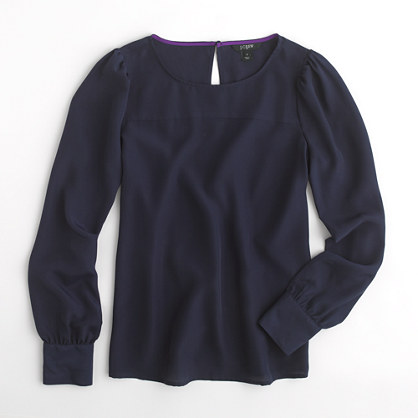 Factory boatneck blouse