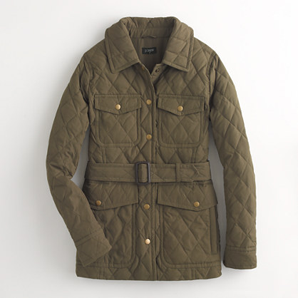 Factory lightweight quilted jacket : Coats | J.Crew Factory