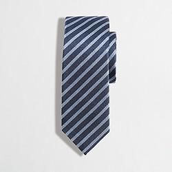 Boys' striped silk tie
