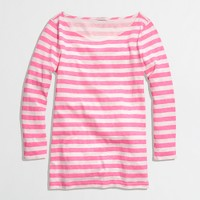 Factory stripe bateau top