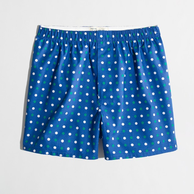 Factory multi-dot boxers
