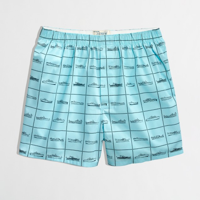 Factory boat boxers