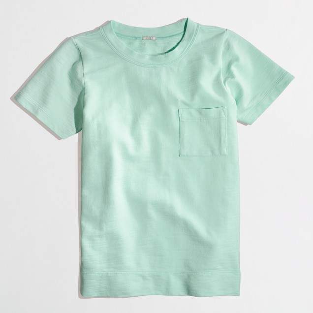 Factory short-sleeve pocket sweatshirt : | Factory