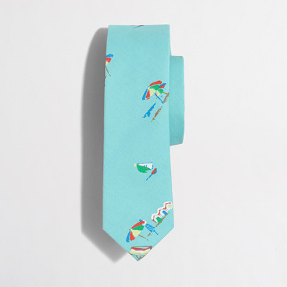 Boys' printed tie