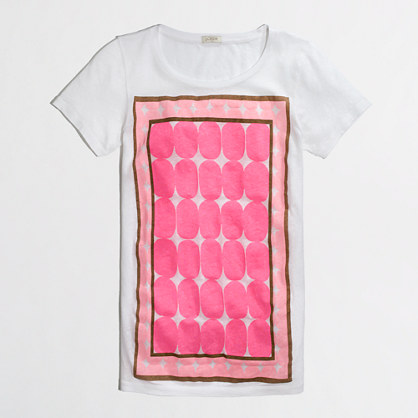 Factory framed dot collector tee