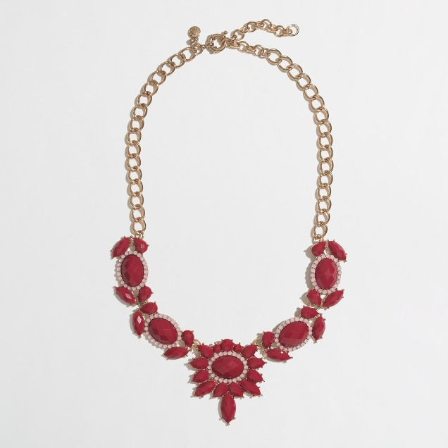 Factory jeweled sundrop necklace