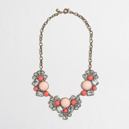 Factory crystal gumdrop necklace
