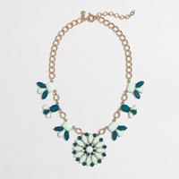 Factory petal medallion necklace