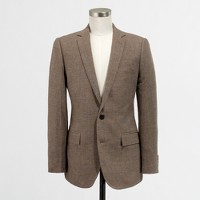 Factory Thompson sportcoat in glen plaid linen-cotton