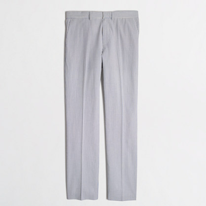 Thompson suit pant in seersucker