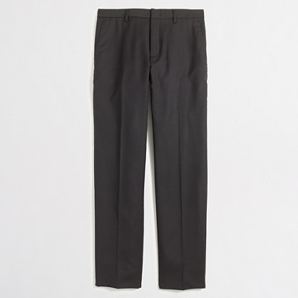 Factory Thompson slim suit pant in worsted wool