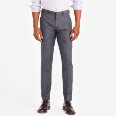 Slim Thompson suit pant in worsted wool factorymen tall c