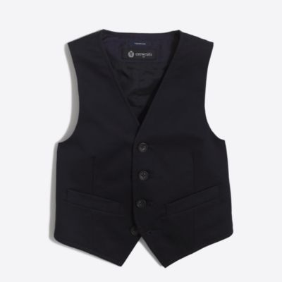 Boys' Thompson suit vest in chino