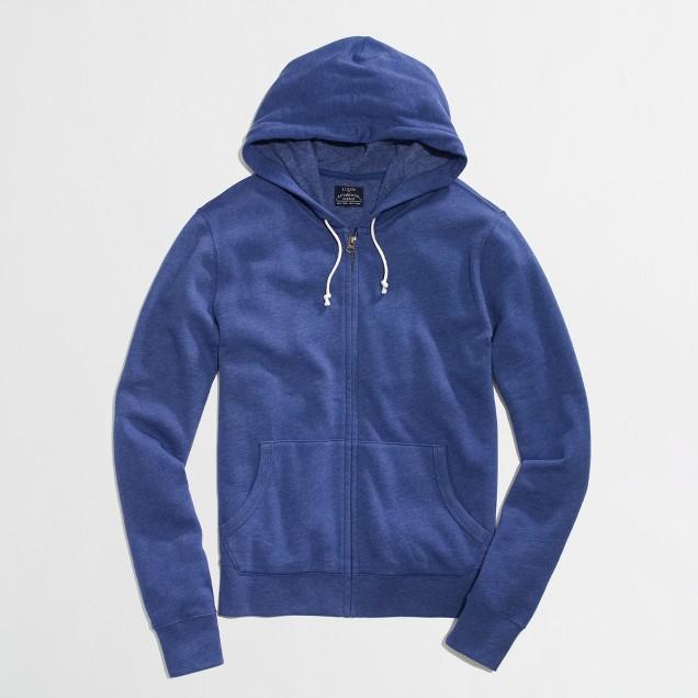 Factory lightweight fleece hoodie