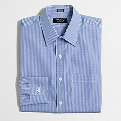 Thompson dress shirt in gingham