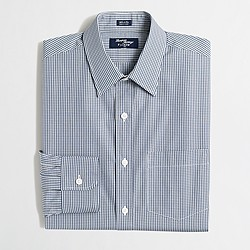 Tall Thompson dress shirt in gingham