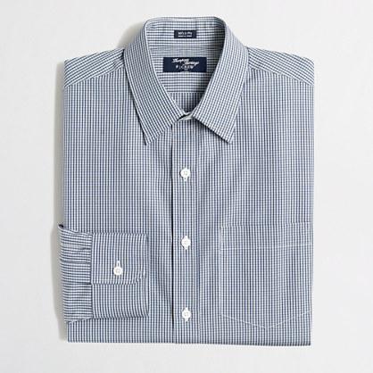 Thompson dress shirt in gingham