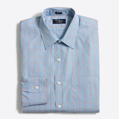 Tall Thompson dress shirt in gingham
