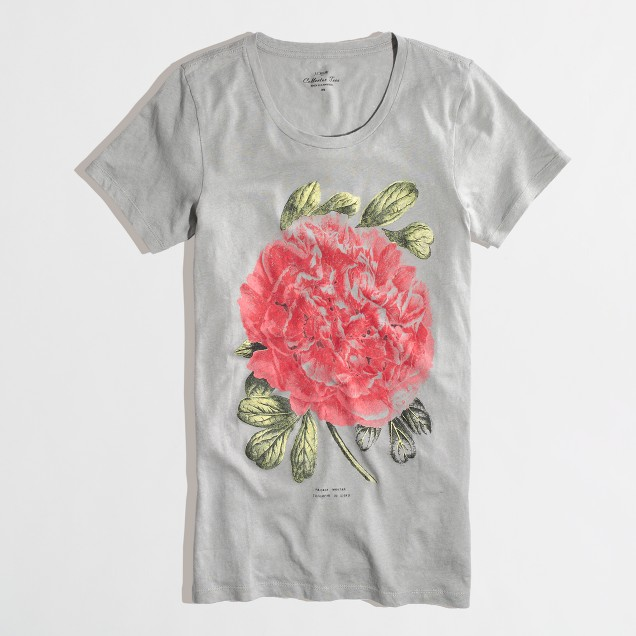 Factory peony collector tee