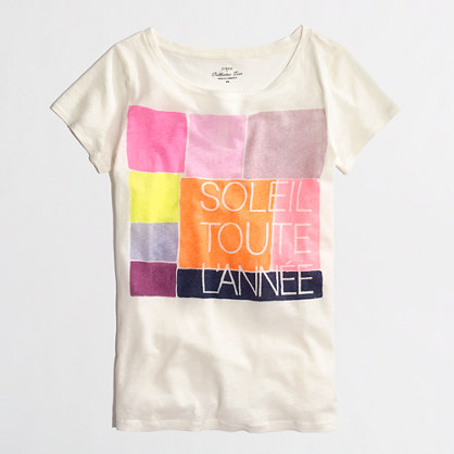 Factory soleil collector tee