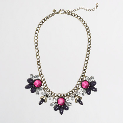 Factory flower curtain necklace