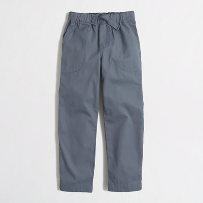 Boys' pull-on lightweight chino