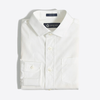 Boys' Thompson spread-collar dress shirt