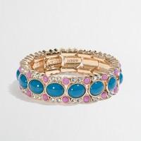 Factory dotted oval stretch bracelet