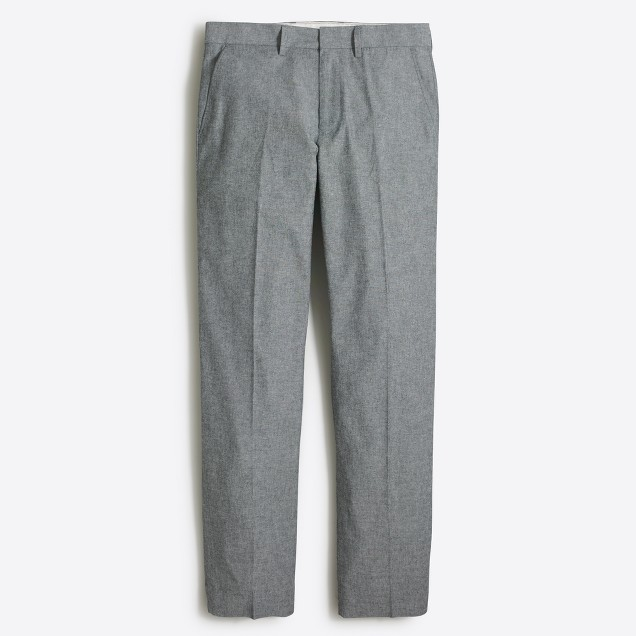 Bedford chambray dress pant